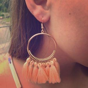 Stunning tassel boho earrings